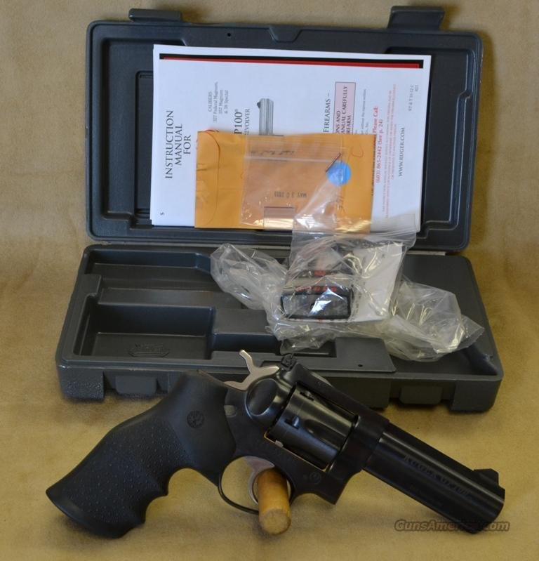 "1702 Ruger GP100 4"" Blued - 357 Magnum  Guns > Pistols > Ruger Double Action Revolver > SP101 Type"