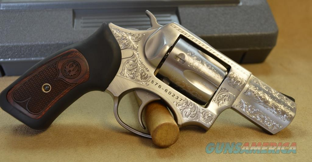 5764 Ruger SP101 Talo Exclusive Engraved - 357 Mag/ 38 Special  Guns > Pistols > Ruger Double Action Revolver > SP101 Type