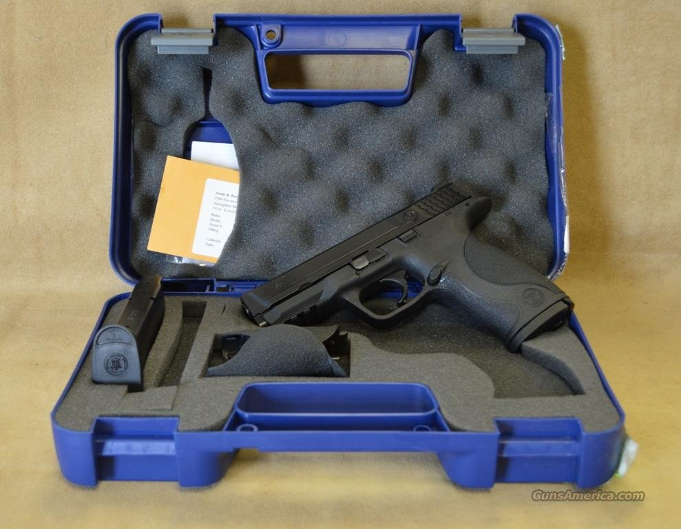 209301 Smith & Wesson M&P - 9mm - No thumb safety - As New in Box  Guns > Pistols > Smith & Wesson Pistols - Autos > Polymer Frame