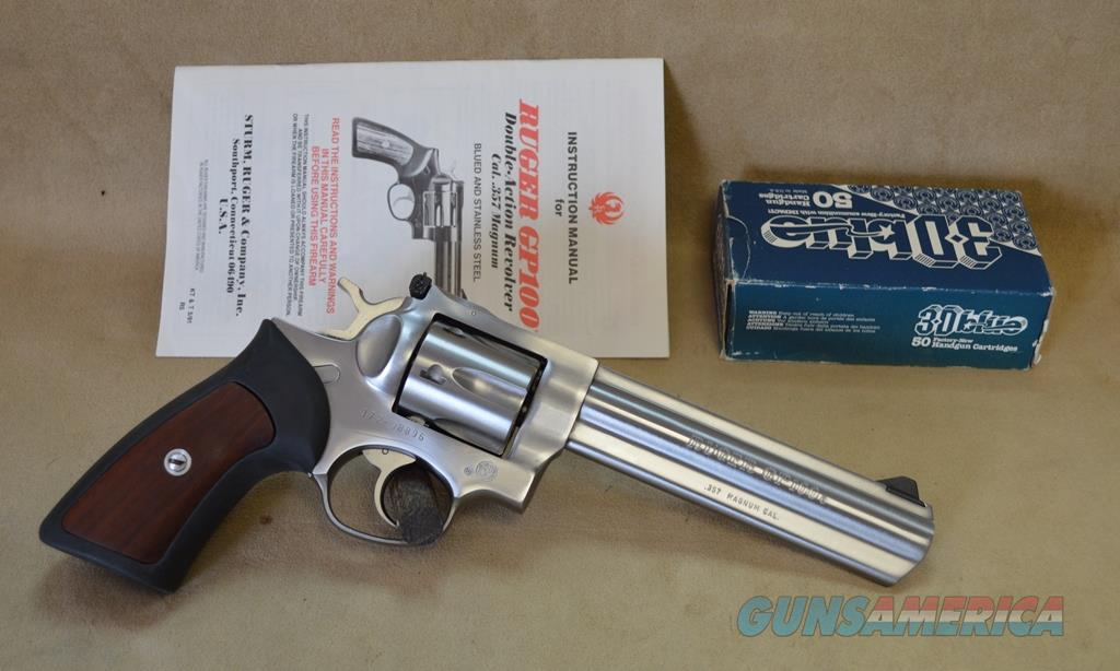 Ruger GP100 Old style - 357 Mag - Used, with papers - Consignment  Guns > Pistols > Ruger Double Action Revolver > GP100
