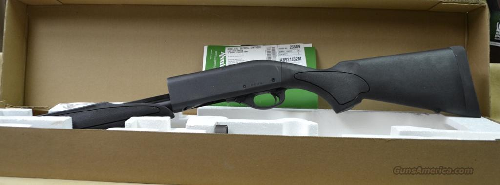 25589 Remington 870 Express Synthetic - 12 gauge  Guns > Shotguns > Remington Shotguns  > Pump > Hunting