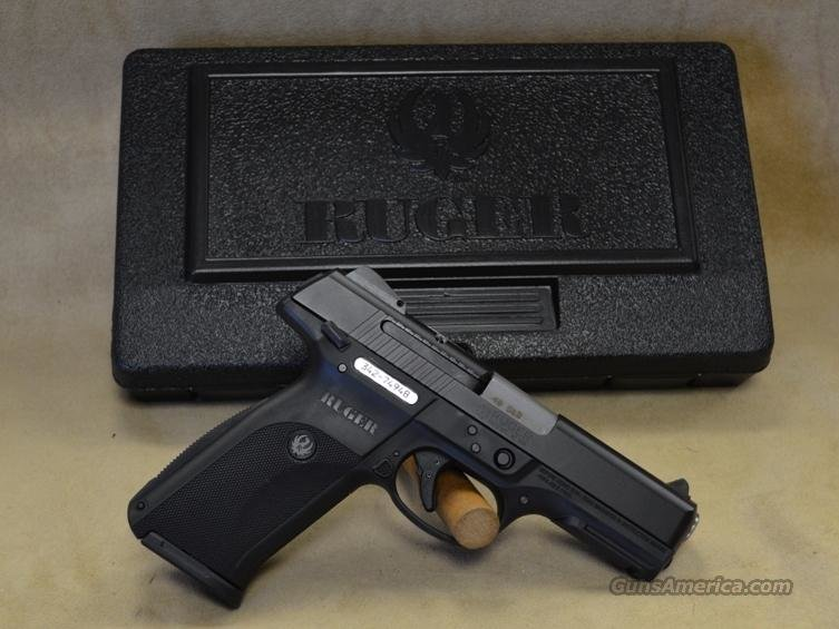 SALE 3471 Ruger SR40 Black - 40 S&W  Guns > Pistols > Ruger Semi-Auto Pistols > SR Family > SR40