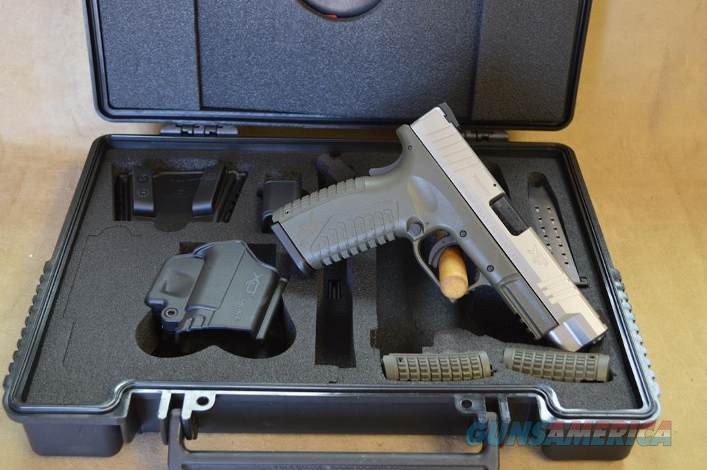 Springfield Armory XDM OD Green/Bitone Package - 40 S&W - As New in box  Guns > Pistols > Springfield Armory Pistols > XD-M