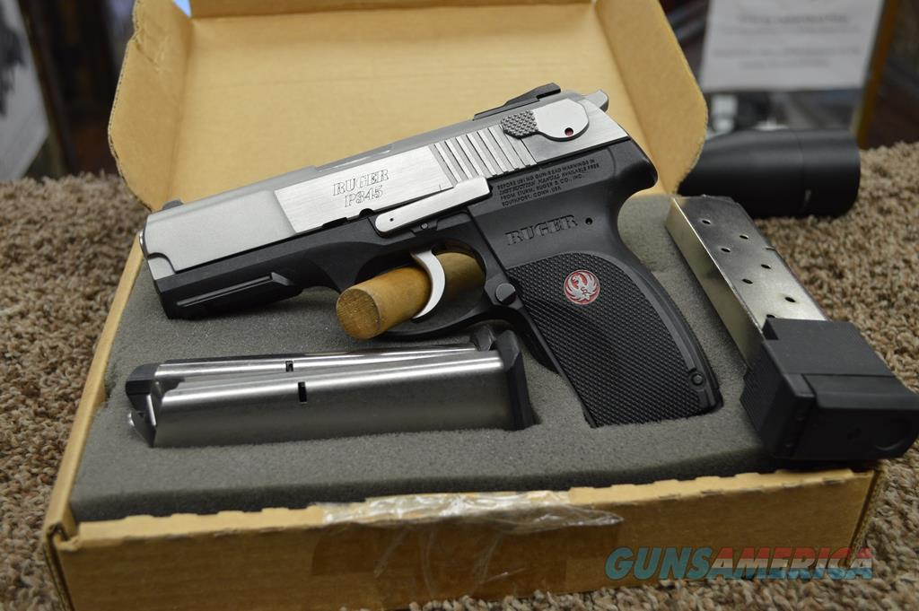 Ruger Ruger P345 Stainless - 45 ACP Used | Consignment  Guns > Pistols > Ruger Semi-Auto Pistols > P-Series