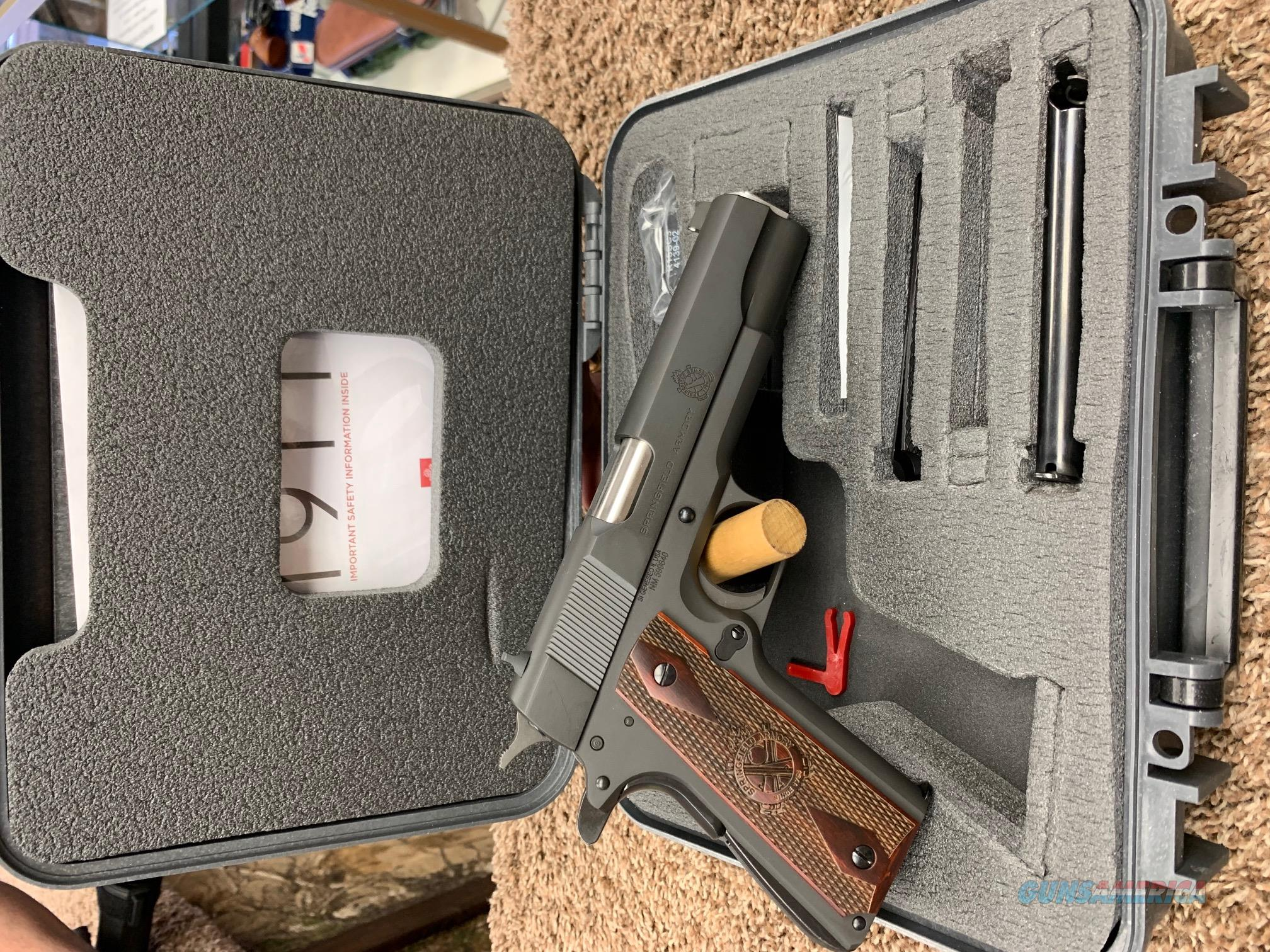PB9109L Springfield 1911 45 ACP  Guns > Pistols > Springfield Armory Pistols > 1911 Type