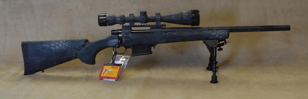 SALE HKF91227KTF Howa 1500 Heavy Barrel Typhon Package - 22-250  Guns > Rifles > Howa Rifles