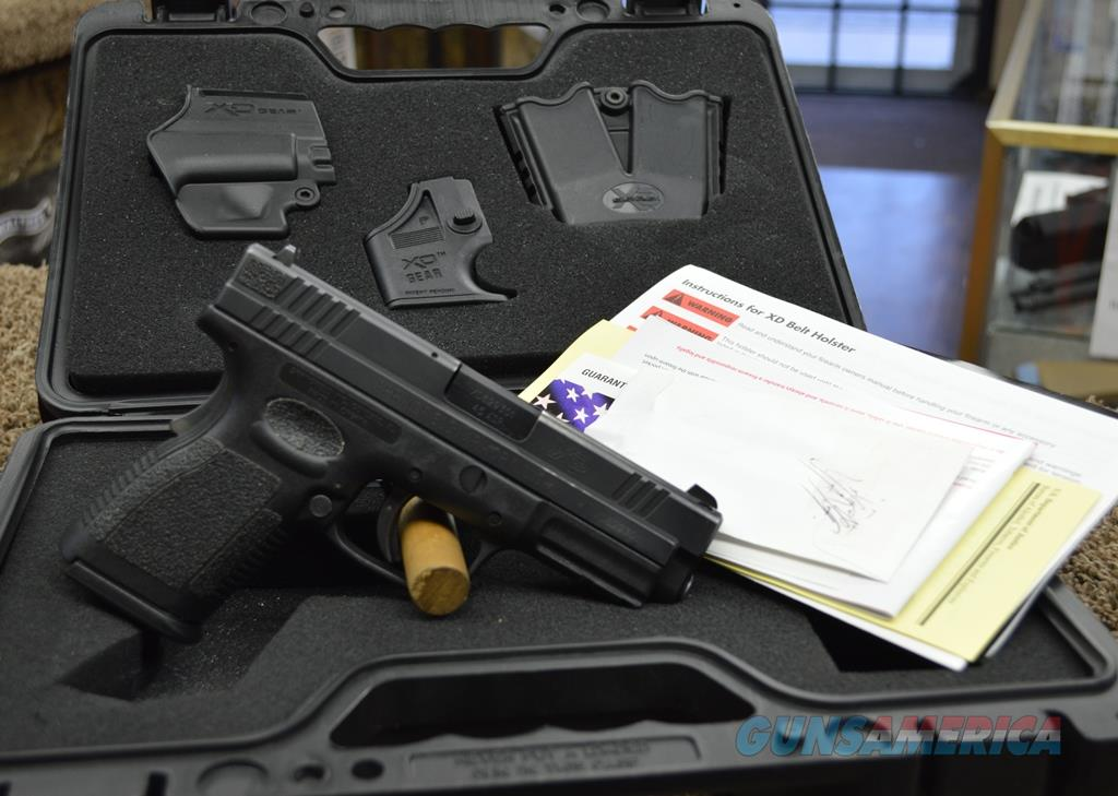 """Springfield XD Compact 4"""" - 45 ACP - Used with box and papers  Guns > Pistols > Springfield Armory Pistols > XD (eXtreme Duty)"""