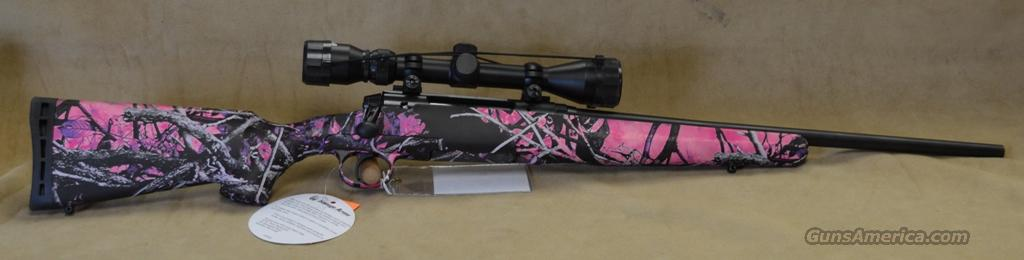19977 Savage Axis XP Muddy Girl Youth - 7mm-08  Guns > Rifles > Savage Rifles > Standard Bolt Action > Sporting