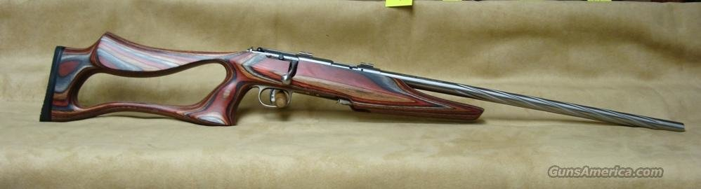 25740 Savage Model MK II BSEV (TH/Sprial Stainless Fluted) - 22 LR  Guns > Rifles > Savage Rifles > Accutrigger Models > Sporting