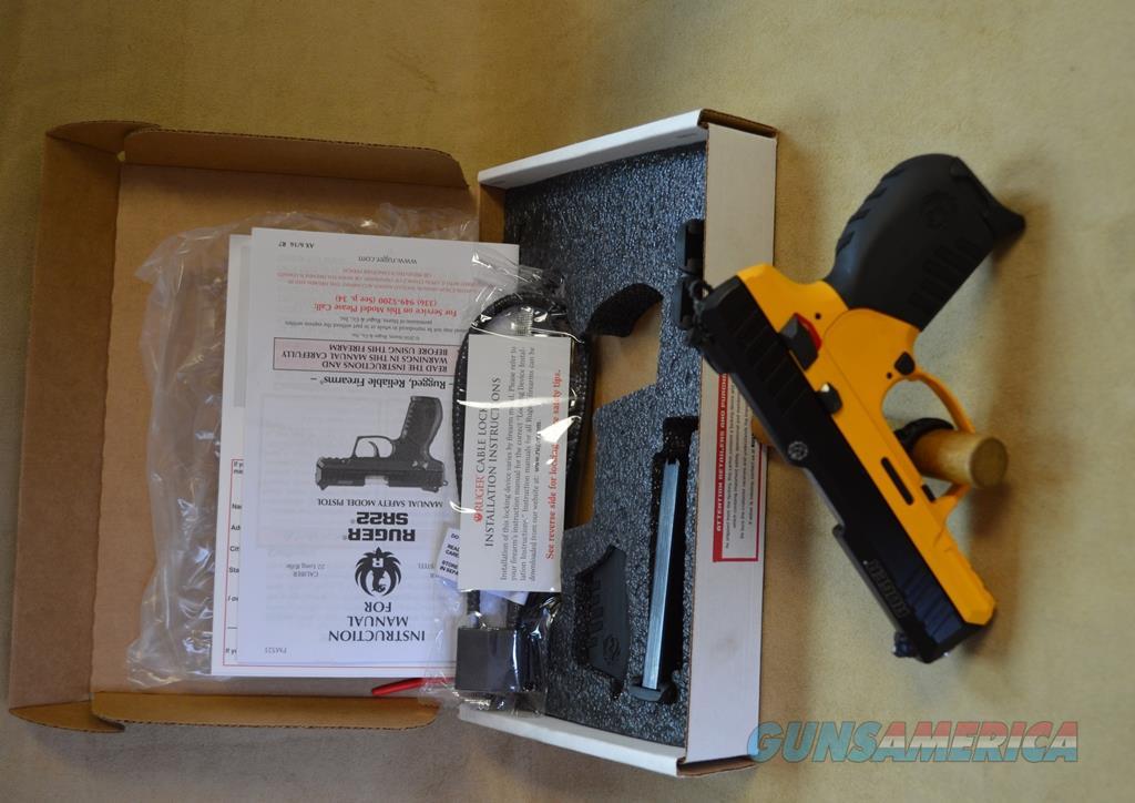 3624 Ruger SR22 Contractor Yellow Cerakote - 22 LR  Guns > Pistols > Ruger Semi-Auto Pistols > SR Family > SR22