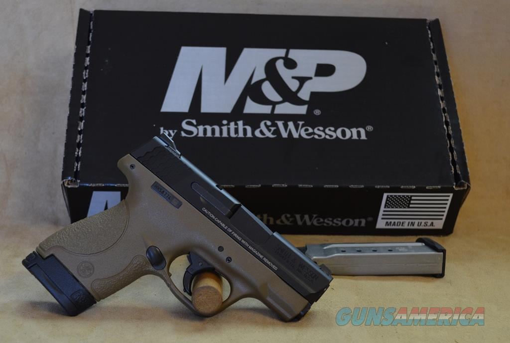 10303 Smith & Wesson M&P9 Shield FDE - 9mm  Guns > Pistols > Smith & Wesson Pistols - Autos > Shield