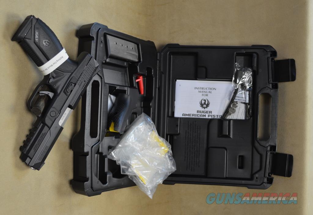 8615 Ruger American Pistol - 45 ACP  Guns > Pistols > Ruger Semi-Auto Pistols > American Pistol