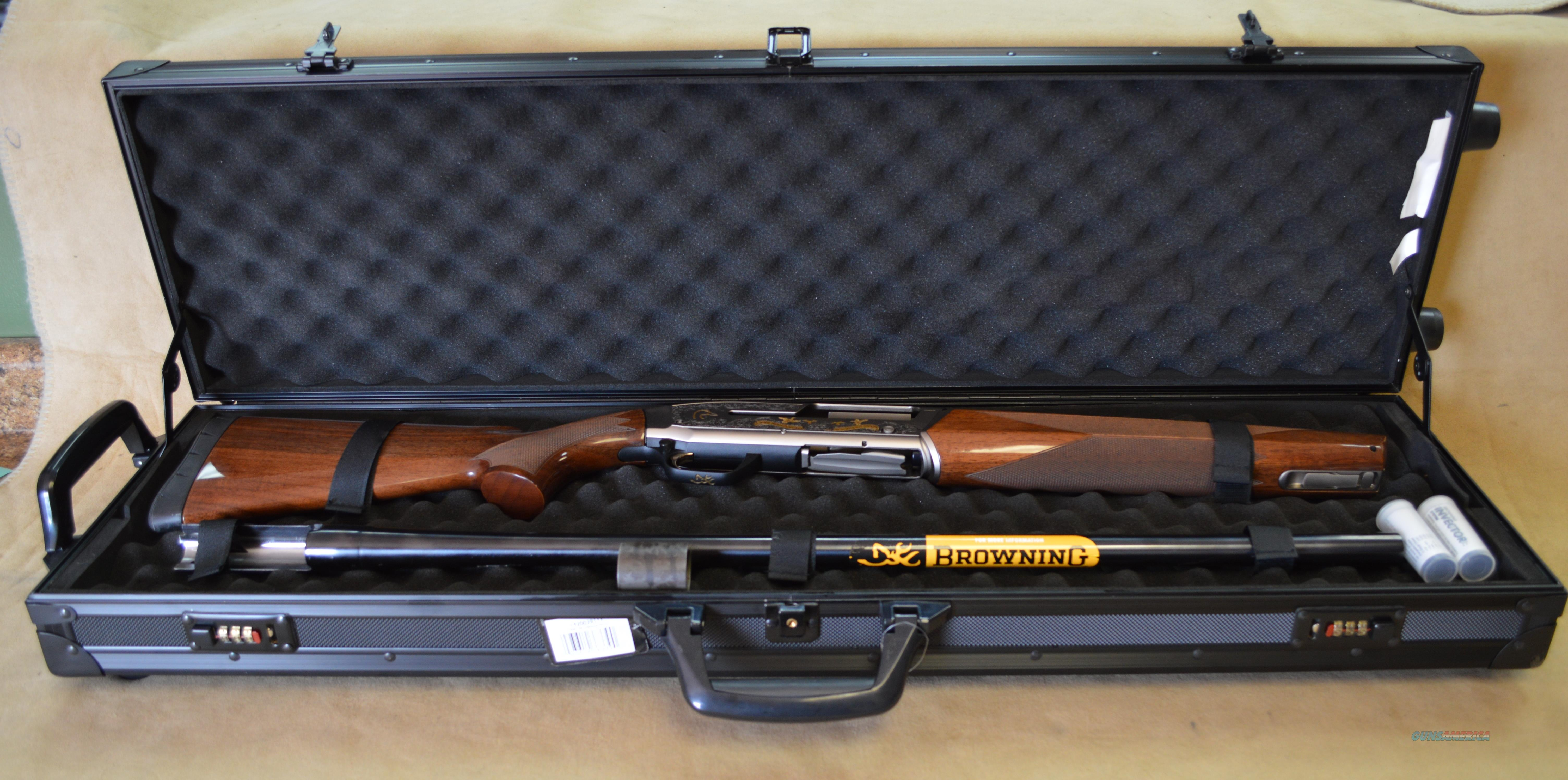Browning Maxus 75th Anniversary Ducks Unlimited 12 gauge - New in Box - Consignment  Guns > Shotguns > Browning Shotguns > Autoloaders > Hunting