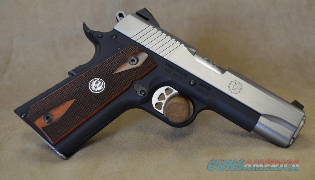 6711 Ruger 1911 Lightweight Commander - 45 ACP  Guns > Pistols > Ruger Semi-Auto Pistols > 1911
