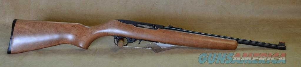 1168 Ruger 10/22 Compact Wood/Blue -22 LR DISCONTINUED  Guns > Rifles > Ruger Rifles > 10-22