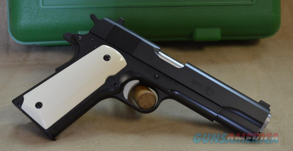 Remington 1911 R1 - 45 ACP - Used, As New with box + ivory grips  Guns > Pistols > Remington Pistols - Modern > 1911