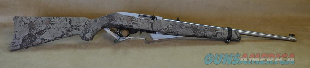 1286 Ruger 10/22 Camo/Stainless Exclusive - 22 LR  Guns > Rifles > Ruger Rifles > 10-22