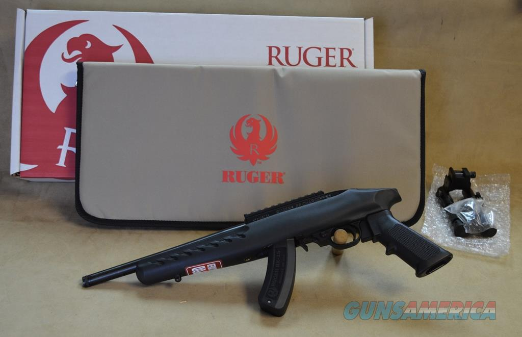 4923 Ruger Charger Black - 22 LR  Guns > Pistols > Ruger Semi-Auto Pistols > Charger Series