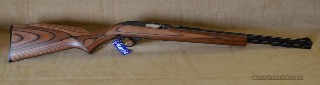 70620 Marlin Model 60 Laminate / Blue - 22 LR  Guns > Rifles > Marlin Rifles > Modern > Semi-auto