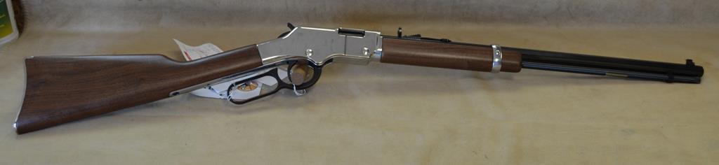 H004SM Henry Silver Boy - 22 Magnum  Guns > Rifles > Henry Rifle Company
