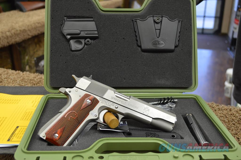 Springfield 1911 A1 Stainless Ducks Unlimited Edition - 45 ACP - New in box  Guns > Pistols > Springfield Armory Pistols > 1911 Type
