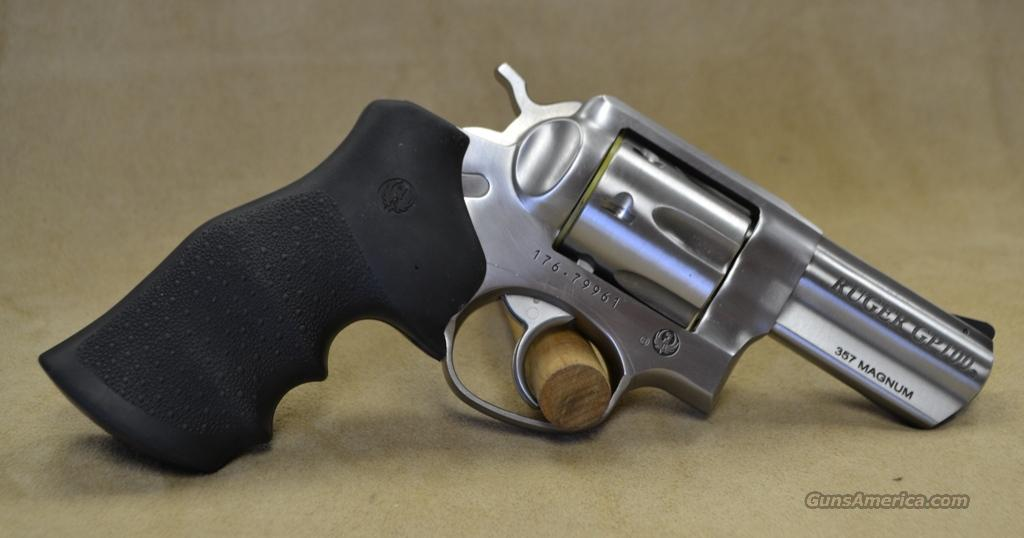"""1715 Ruger GP100 3"""" Stainless - 357 magnum  Guns > Pistols > Ruger Double Action Revolver > SP101 Type"""