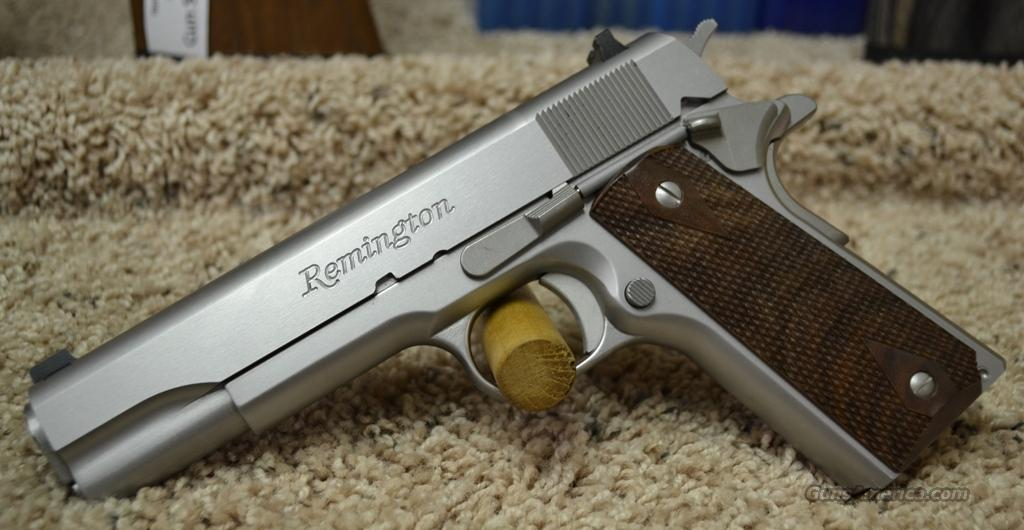 96324 Remington 1911 R1S Stainless - 45 ACP  Guns > Pistols > Remington Pistols - Modern