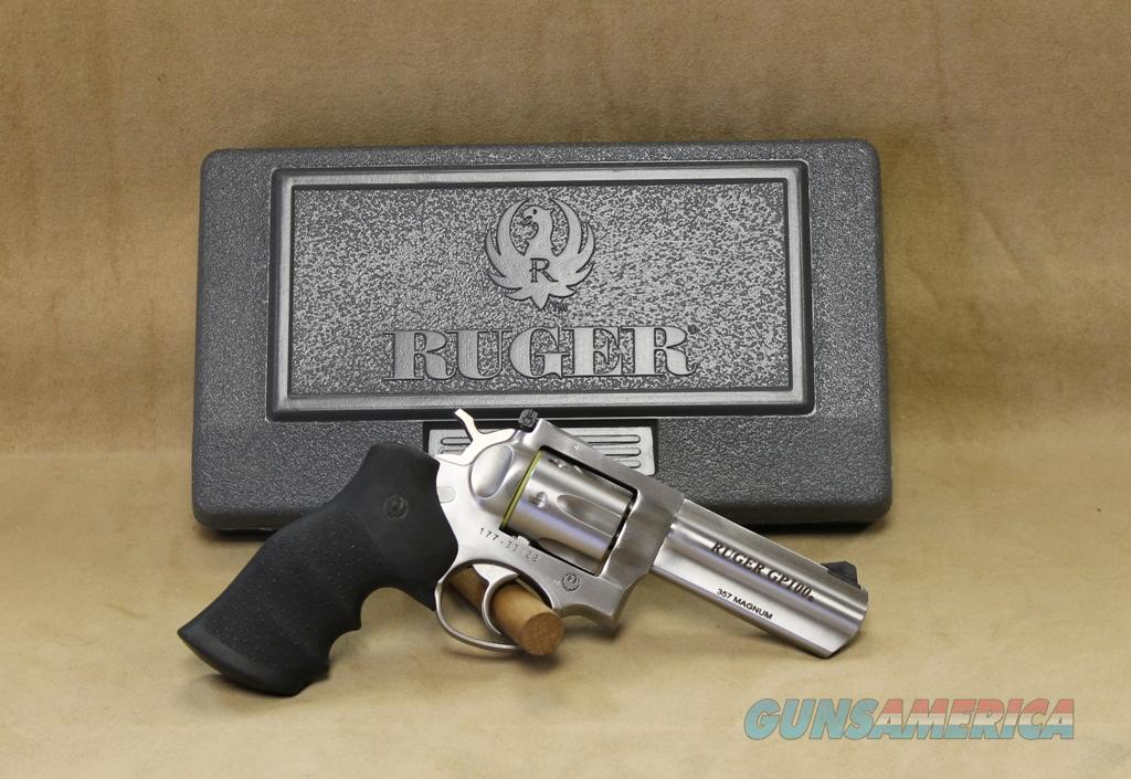"1705 Ruger GP100 Stainless 4"" - 357 Mag  Guns > Pistols > Ruger Single Action Revolvers > Blackhawk Type"