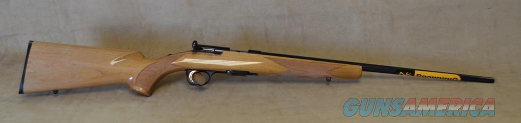 SALE Browning T Bolt Maple Sporter - 22 Mag - Consignment - New in box (01798)  Guns > Rifles > Browning Rifles > Bolt Action > Hunting > Blue