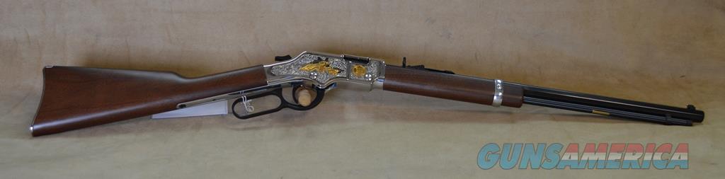 H004SAT Henry Goldenboy 2nd Amendment Tribute Rifle - 22 S/L/LR  Guns > Rifles > Henry Rifle Company