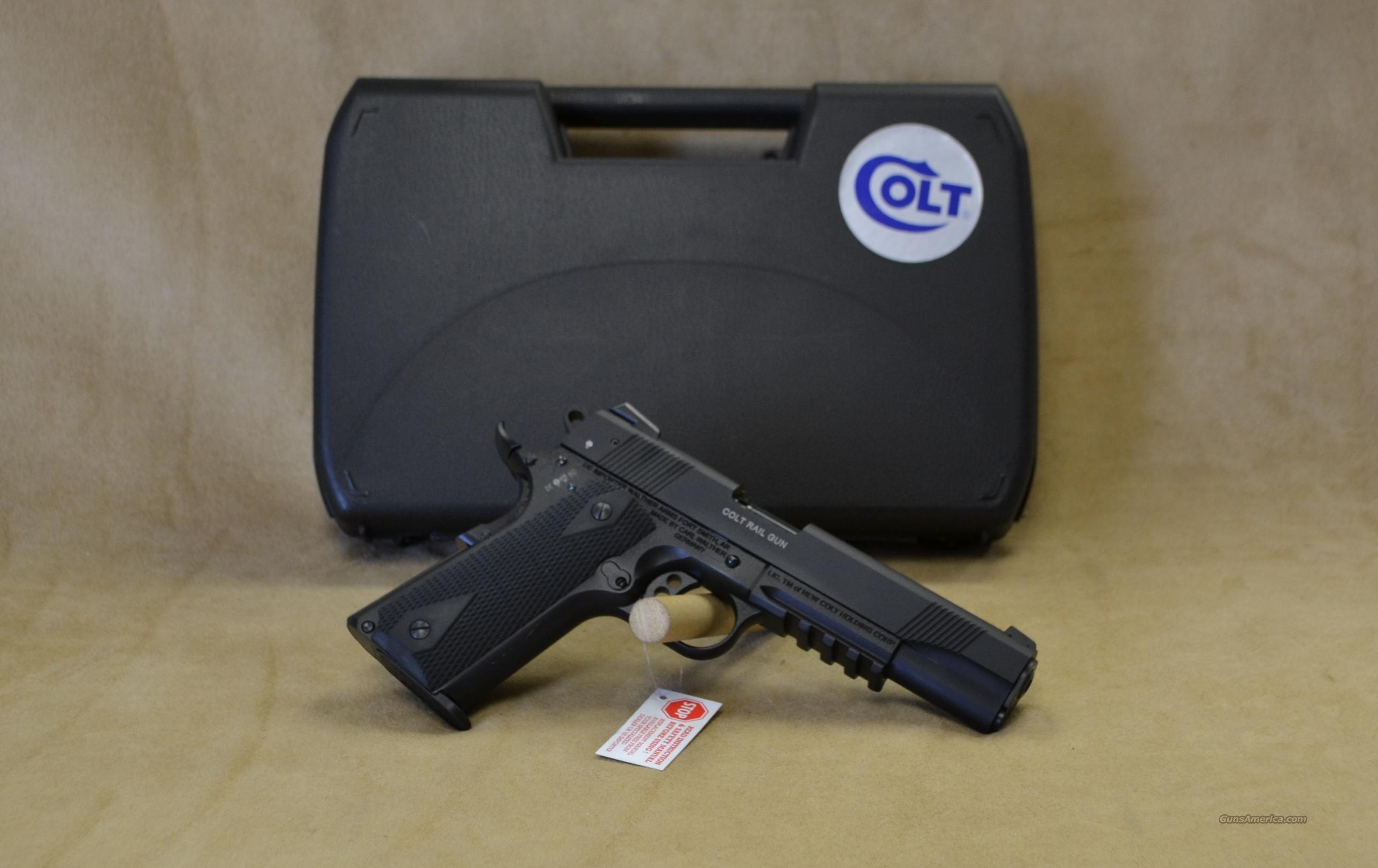 517030810 Colt 1911 Railgun - 22 LR  Guns > Pistols > Colt Automatic Pistols (1911 & Var)