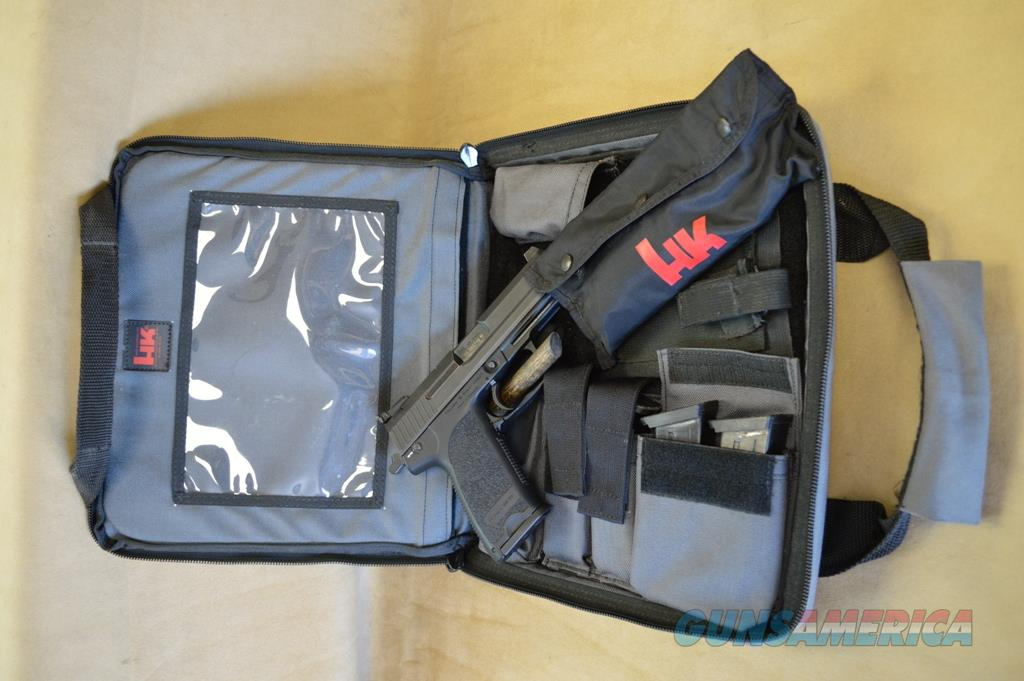 PRICE LOWERED HK USP Tactical Threaded - 45 ACP - Used w/case 5 mags - Consignment  Guns > Pistols > Heckler & Koch Pistols > Polymer Frame