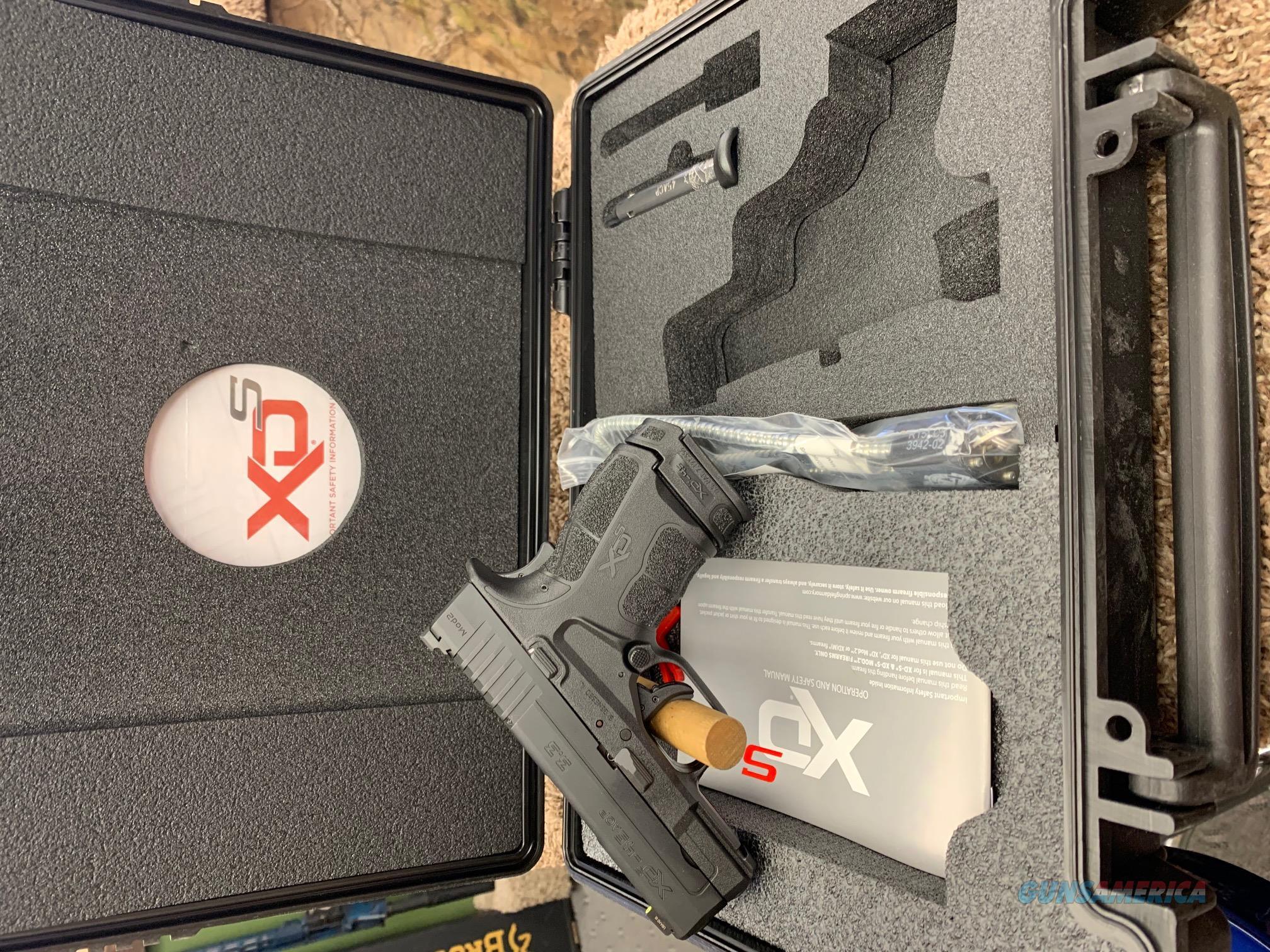 XDSG93345BT Springfield Armory XDS Mod 2 Night Sights 45 ACP  Guns > Pistols > Springfield Armory Pistols > XD-S