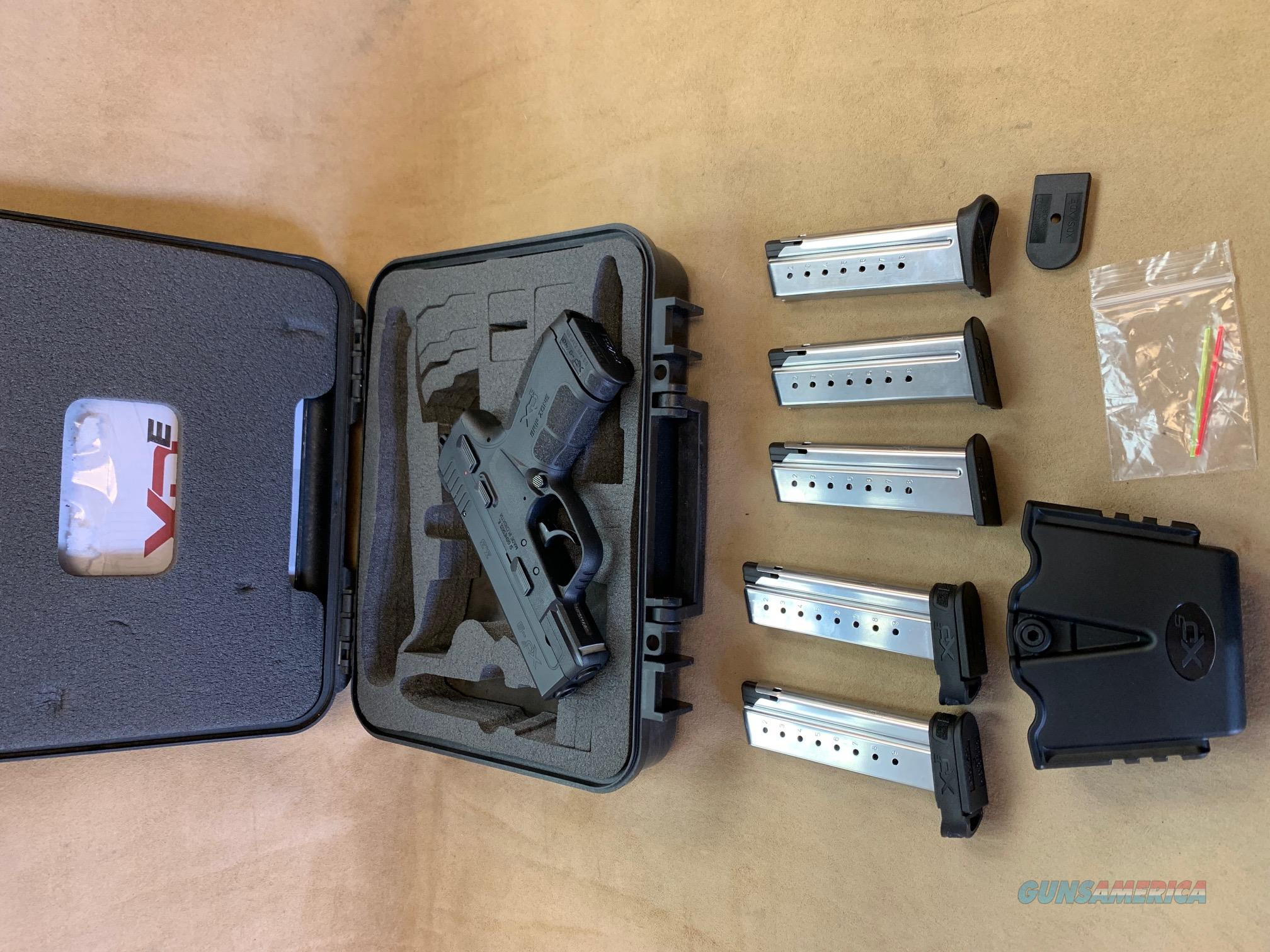 Springfield Armory XDE 9mm w/ 6 mags USED w/ box   Guns > Pistols > Springfield Armory Pistols > XD-E