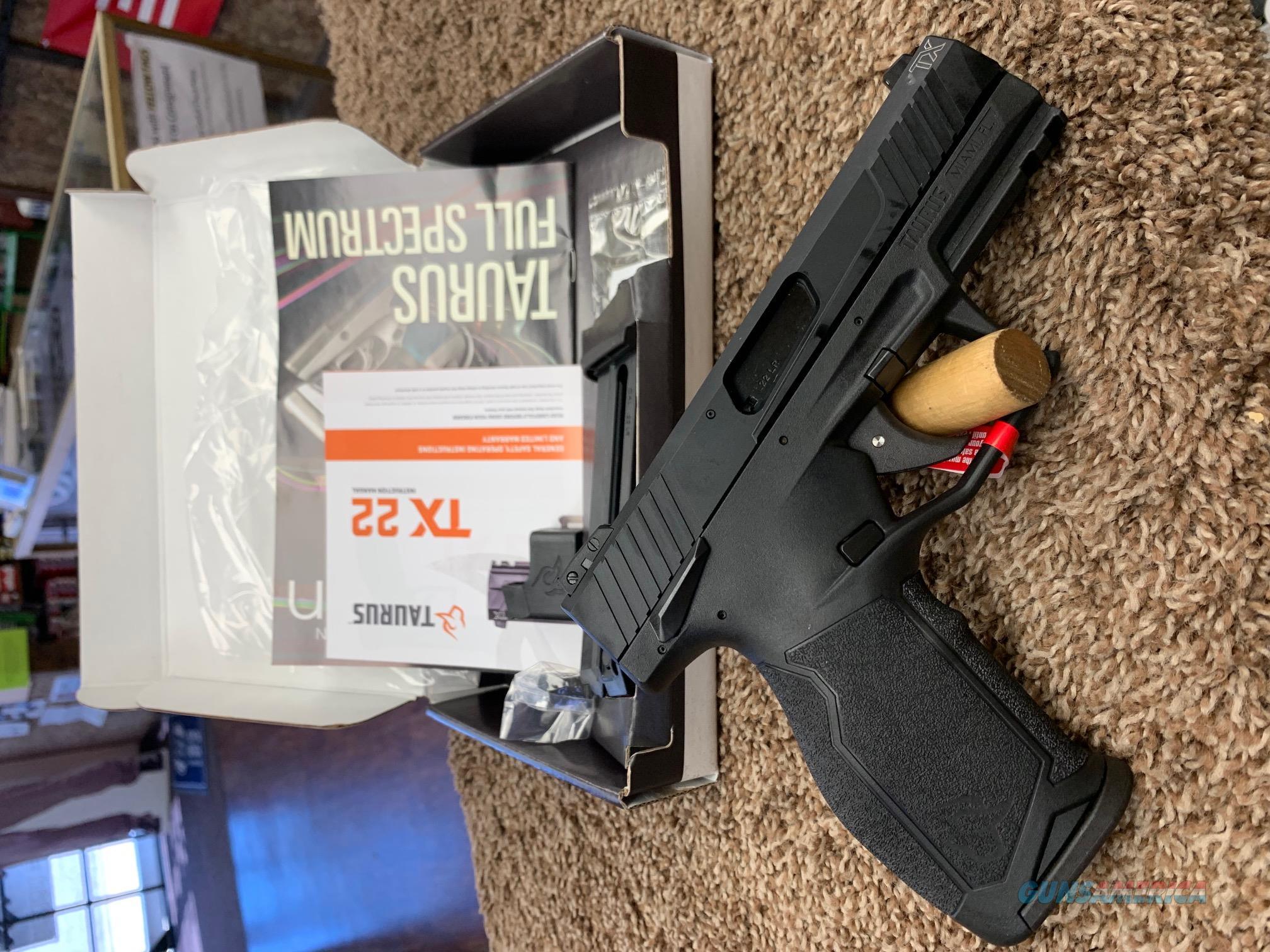 Taurus TX22 22 LR plus $50 rebate  Guns > Pistols > Taurus Pistols > Semi Auto Pistols > Polymer Frame