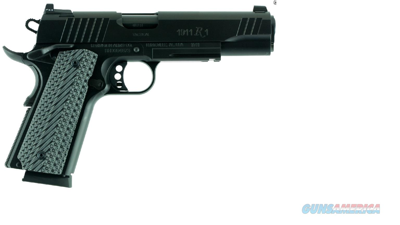 "96385 Remington 1911 R1 Tactical Semi Auto Pistol 5"" - 45acp  Guns > Pistols > Remington Pistols - Modern > 1911"