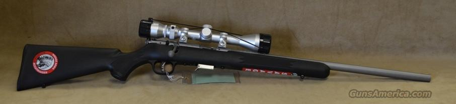 95200 Savage 93 FVSS XP Stainless/Black Package - 22 Mag  Guns > Rifles > Savage Rifles > Model 95/99 Family