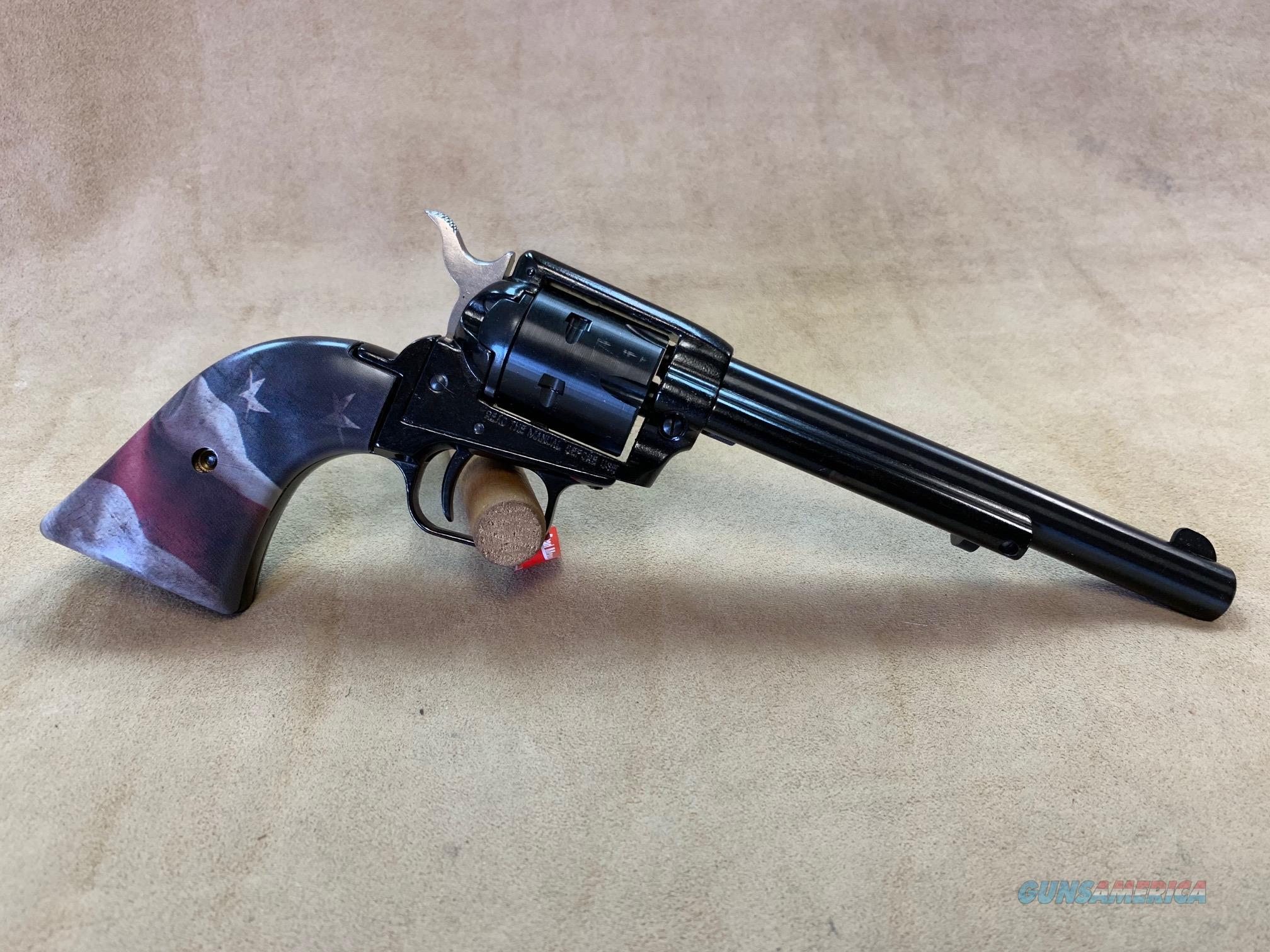 "Heritage Arms Rough Rider 6.5"" Flag 22 LR  Guns > Pistols > Heritage"