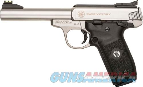 108490 Smith & Wesson Victory Stainless - 22 LR  Guns > Pistols > Smith & Wesson Pistols - Autos > .22 Autos