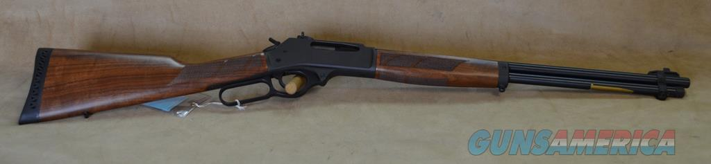 Henry Lever Steel - 30-30 Win - Used, with box and papers, Ghost Ring Sight  Guns > Rifles > Henry Rifle Company