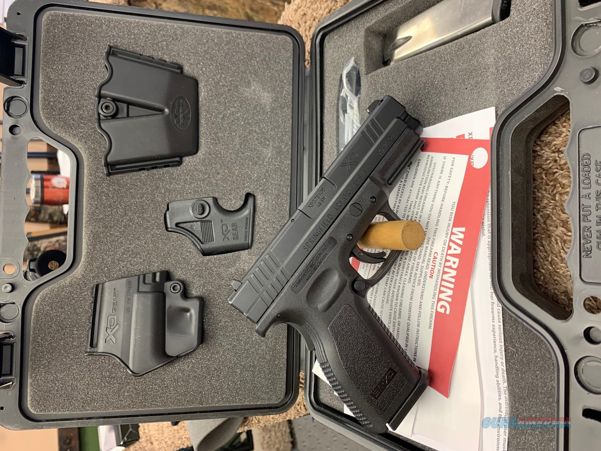 """XD9102HC Springfield Armory XD 4"""" Service 40 S&W  Guns > Pistols > Springfield Armory Pistols > XD (eXtreme Duty)"""