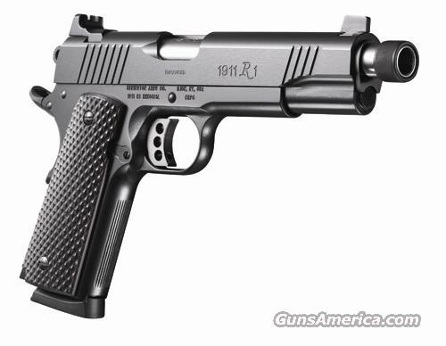 96339 Remington 1911 R1 Enhanced Blued threaded barrel - 45 ACP  Guns > Pistols > Remington Pistols - Modern