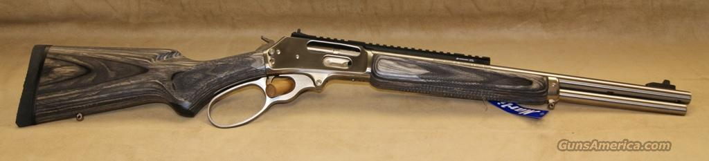 Marlin Model 1895SBL Grey/Black Laminate/Stainless - 45-70  Guns > Rifles > Marlin Rifles > Modern > Lever Action