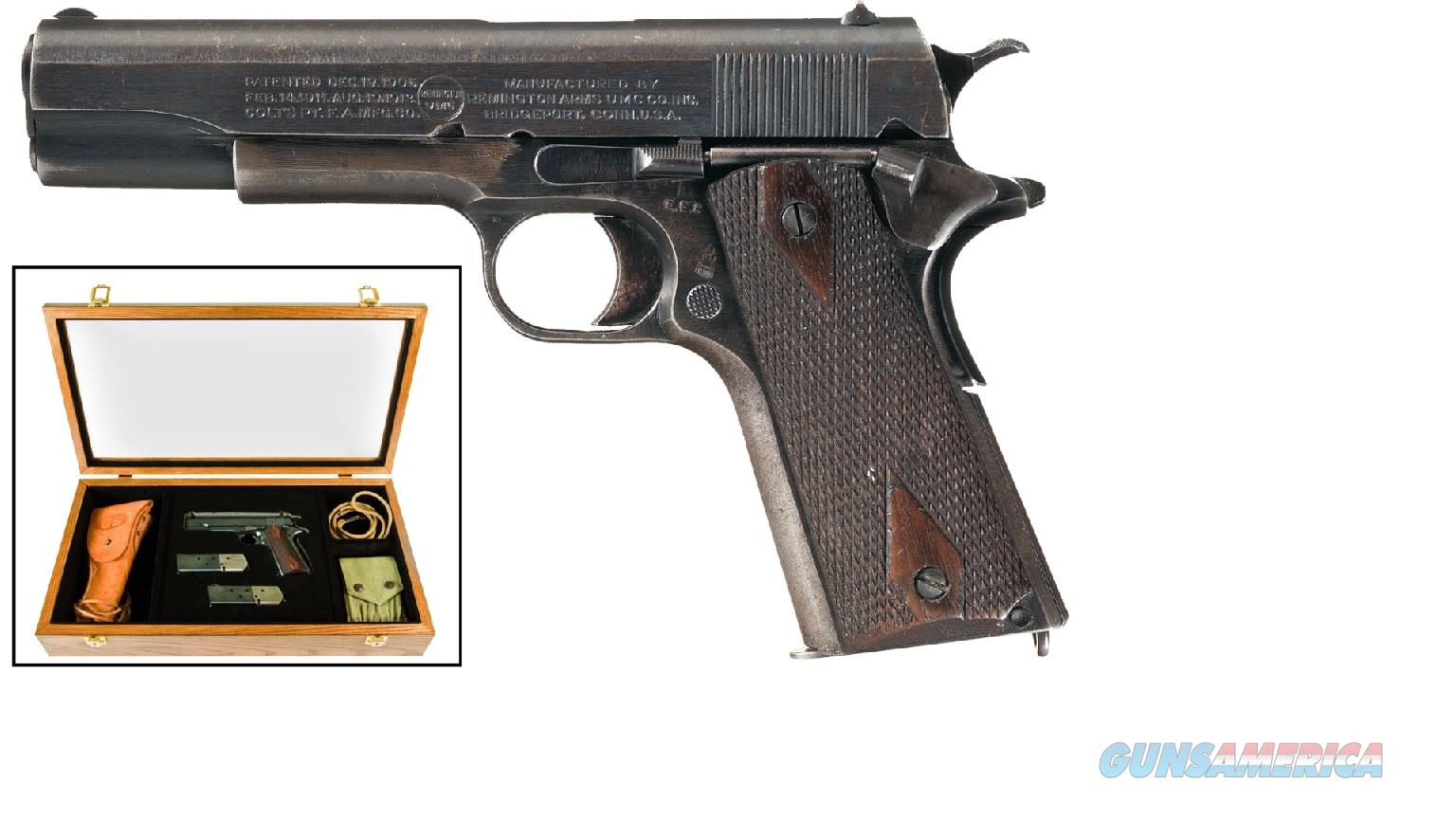 "96367 Remington 1911 UMC Commemorative SAO 5"" - 45acp  Guns > Pistols > Remington Pistols - Modern > 1911"