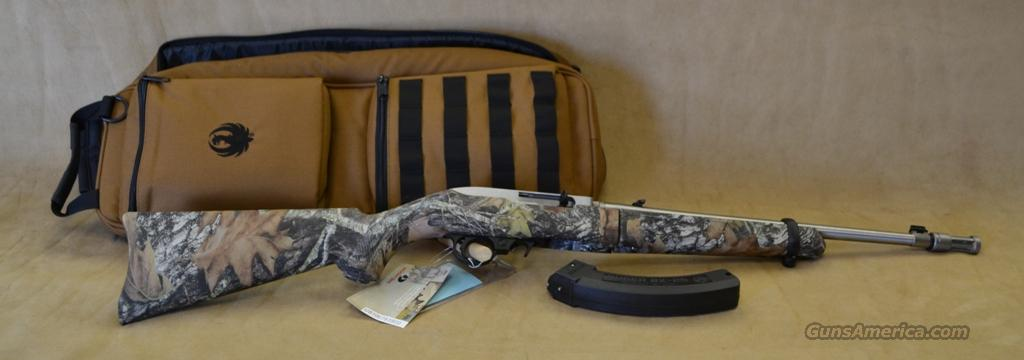 11141 Ruger 10/22 Takedown Camo/Stainless - 22 LR  Guns > Rifles > Ruger Rifles > 10-22