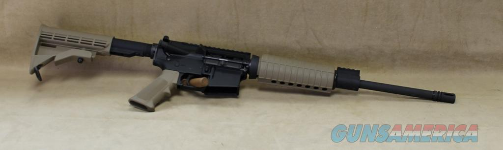 PLINKER+FTCB Olympic Arms AR-15 Plinker Plus - Coyote Brown - 223 Rem / 5.56mm  Guns > Rifles > Olympic Arms Rifles
