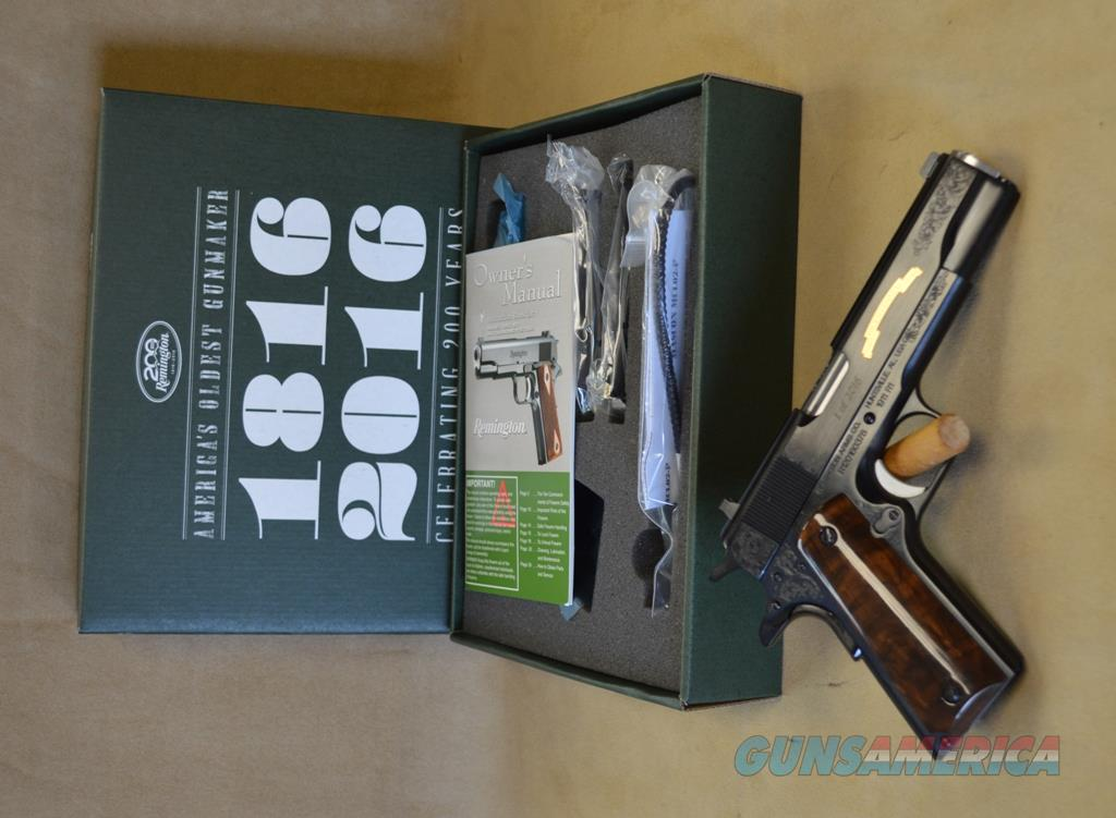 REBATE 96372 Remington 1911 R1 200th Anniversary - 45 ACP  Guns > Pistols > Remington Pistols - Modern > 1911