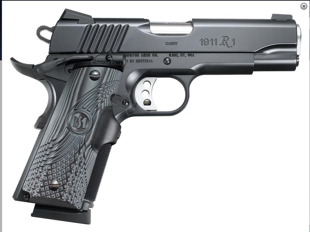 CLOSEOUT 96356 Remington 1911 R1 Commander Carry w/laser - 45 ACP  Guns > Pistols > Remington Pistols - Modern > 1911