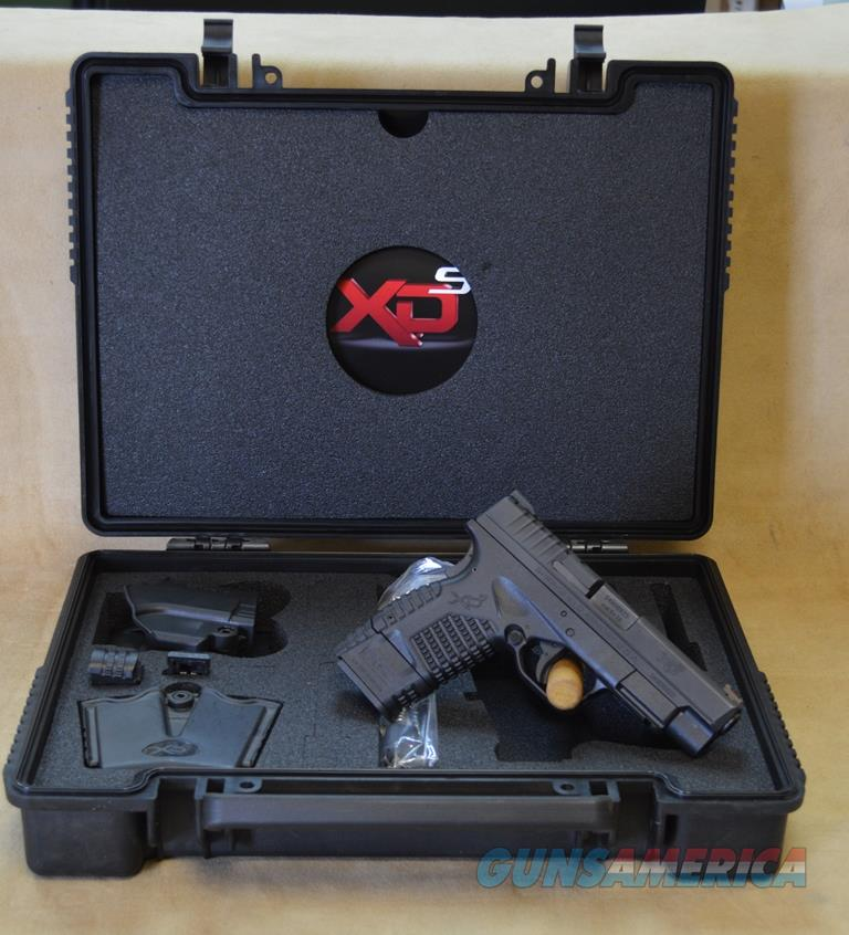 "CONSIGNMENT Springfield XDS 4"" Black - 9mm - Used with Gear  Guns > Pistols > Springfield Armory Pistols > XD-S"