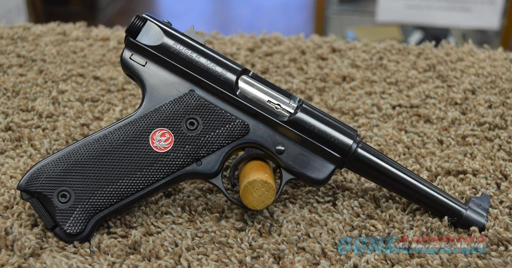 Ruger MKIII Standard - 22 LR Used with box   Guns > Pistols > Ruger Semi-Auto Pistols > Mark I/II/III/IV Family